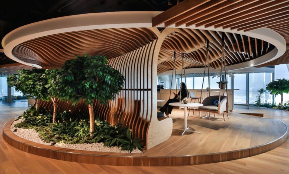 Biofilia Green Spaces In The Workplace 01
